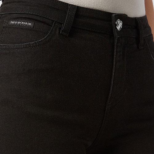 Джинсы-скинни Philipp Plein Slim Fit черного цвета, фото