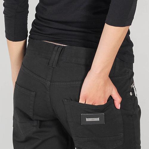 Прямые джинсы Richmond черного цвета с низкой посадкой, фото