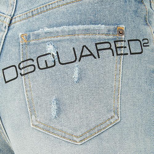 Джинсы Dsquared2 Page Jean широкие, фото