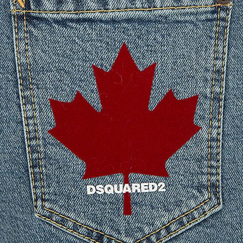 Джинсы Dsquared2 Eighties Jean с высокой талией, фото