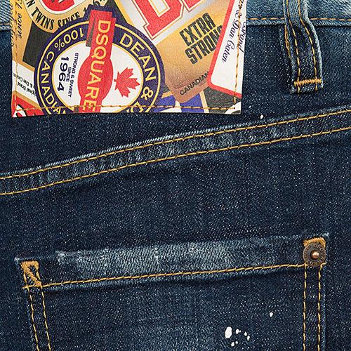 Рваные джинсы Dsquared2 Eighties Jean, фото