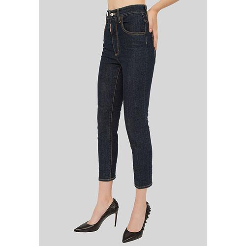 Джинсы Dsquared2 High Waist Cropped Twiggy Jean, фото