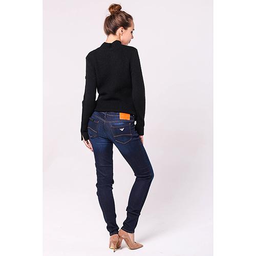 Синие джинсы Emporio Armani со средней посадкой, фото