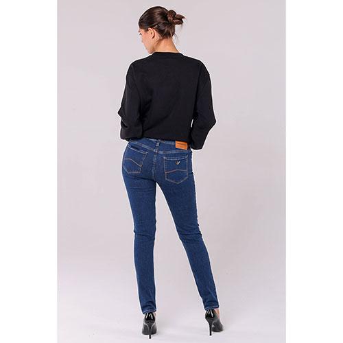 Синие джинсы-скинни Emporio Armani, фото