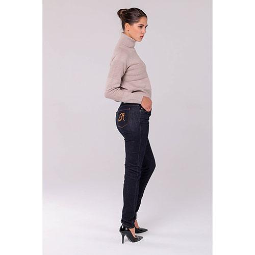 Узкие джинсы Emporio Armani с фирменным логотипом, фото