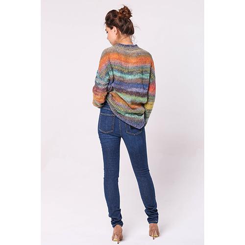 Зауженные джинсы Kenzo синего цвета, фото