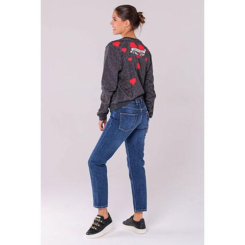 Укороченные джинсы Kenzo синего цвета, фото