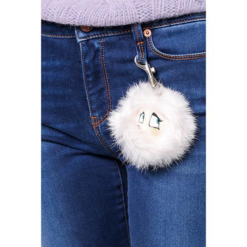 Узкие джинсы Love Moschino со съемным декором, фото