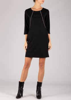Черное платье Liu Jo до колен, фото