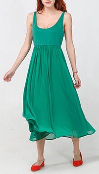 Зеленое платье Seventy с пышной юбкой, фото