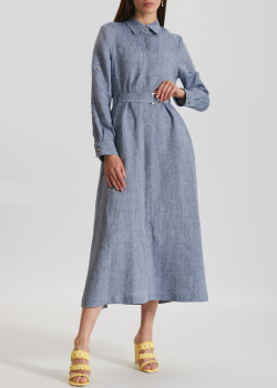 Льняное платье Airfield с разрезами, фото
