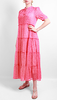 Розовое платье Laurel с пышной юбкой, фото
