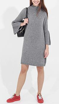 Вязаное платье Tensione in серого цвета, фото