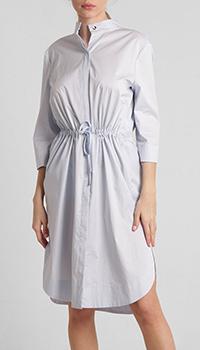 Платье-рубашка Airfield голубого цвета, фото