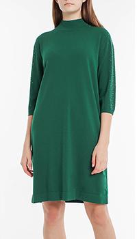 Зеленое платье Laurel с рукавами 3/4, фото