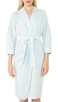 Платье-рубашка Max Mara голубого цвета, фото