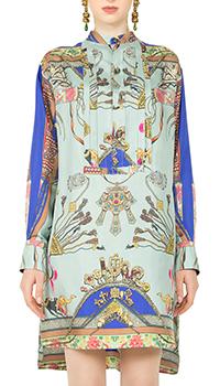 Платье-рубашка Etro из шелка , фото