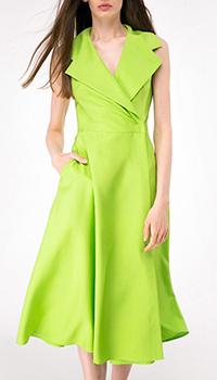 Платье на запах Shako салатового цвета, фото