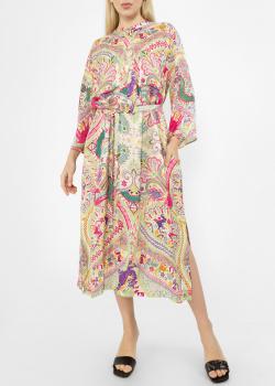 Платье-миди Etro с разрезами по бокам, фото