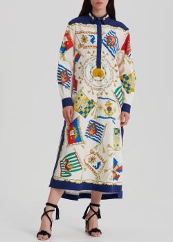 Платье свободного кроя Etro с боковыми разрезами, фото