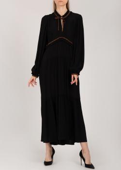 Длинное платье Dorothee Schumacher с контрастными деталями, фото