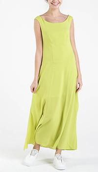 Длинное салатовое платье Shako со спущенными плечами, фото