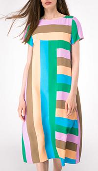 Свободное платье Shako с разноцветную полоску, фото