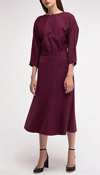 Платье Shako бордового цвета, фото