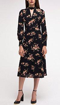 Полуприлегающее платье Shako с цветочным принтом, фото