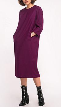 Платье Shako фиолетовое прямого кроя, фото