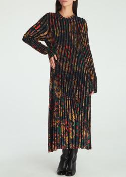 Платье-макси Etro с плиссировкой, фото