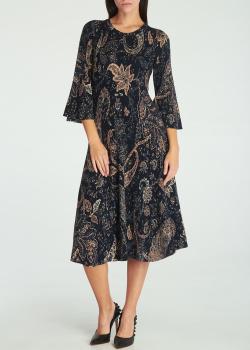 Платье-миди Etro с плиссировкой, фото