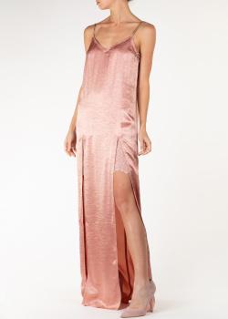 Пудровое платье Nina Ricci на бретелях-цепочках, фото