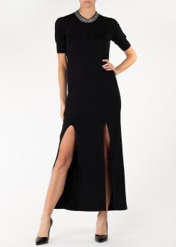 Черное платье Nina Ricci с декором-стразами, фото