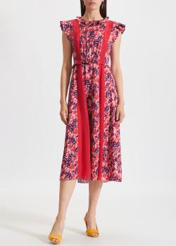 Платье с принтом Three Floor средней длины, фото