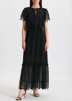 Длинное платье Three Floor с коротким рукавом, фото