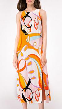 Яркое платье Shako с высоким разрезом, фото