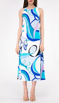 Платье с принтом Shako прямого кроя, фото
