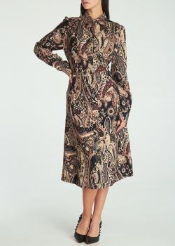Платье-рубашка Etro с длинными рукавами, фото
