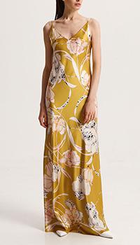 Шелковое платье Shako с цветочным принтом, фото