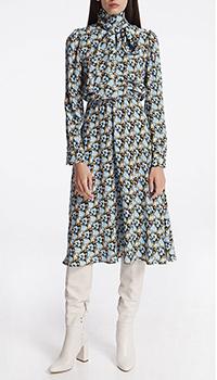 Платье-миди с цветочным принтом Shako, фото