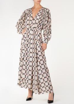 Белое платье Isabel Marant с геометрическим принтом, фото