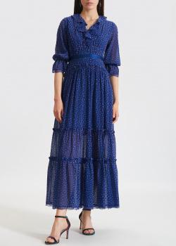 Синее платье Three Floor с воланами, фото