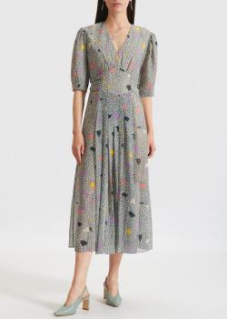 Платье-миди Three Floor с принтом, фото