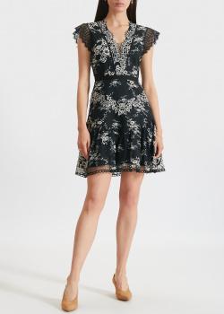Платье мини Three Floor с кружевными рукавами, фото