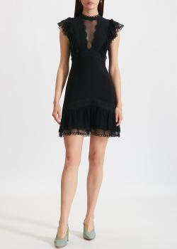 Черное кружевное платье Three Floor без рукавов, фото