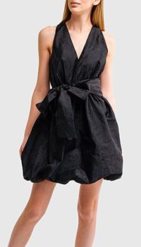 Черное платье Pinko с бантом, фото