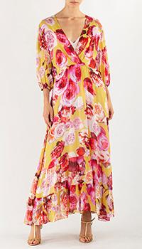Платье Pinko с пышными рукавами, фото