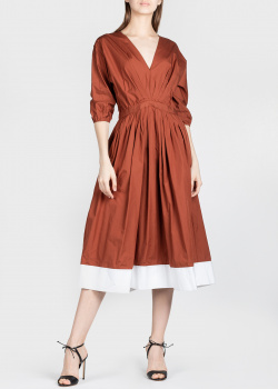 Платье средней длины N21 с рукавом три четверти, фото