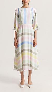 Платье Shako в цветную полоску, фото